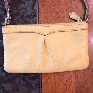 Dooney & Bourke Bags - Dooney & Bourke wristlet yellow